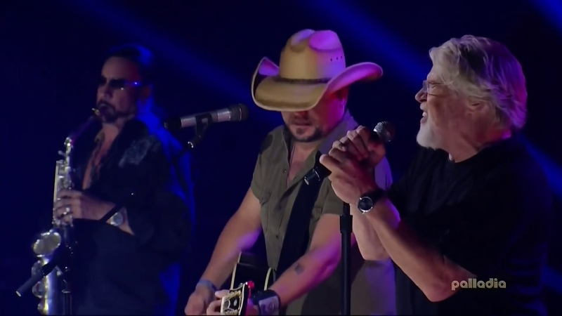 TURN THE PAGE live Bob Seger and Jason Aldean FULL HD