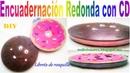 📚 Libreta Redonda fácil con CD/Libreta de rosquilla/libreta de galleta/dia del padre