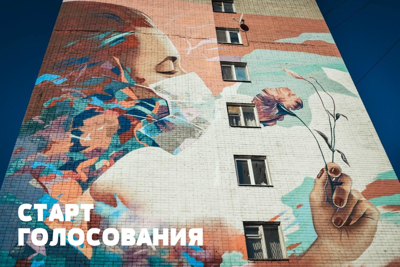 Саратовское граффити, посвящённое борьбе с коронавирусом, участвует в конкурсе ПФО