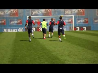 La croqueta / Movimiento personal de Iniesta / Nike Training