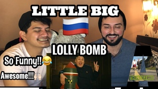 Singer Reacts| Little Big - Lolly Bomb