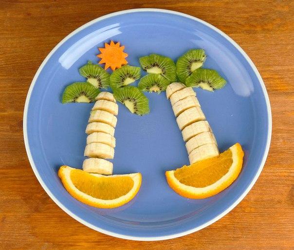 Идеи подачи фруктов