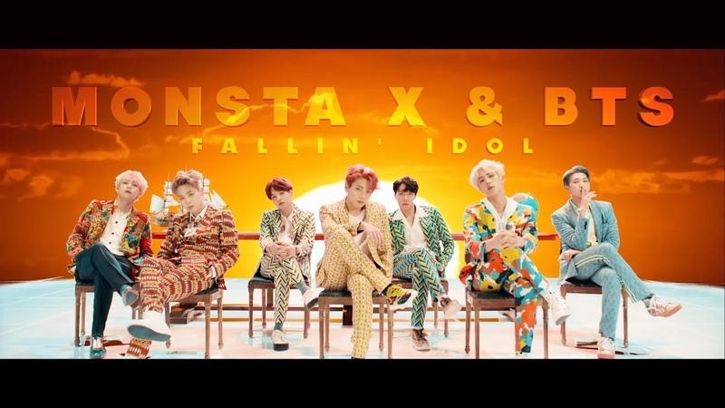 MONSTA X BTS Fallin X IDOL (MASHUP)