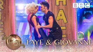 Faye Tozer & Giovanni Pernice Quickstep to 'You're The One That I Want' - BBC Strictly 2018