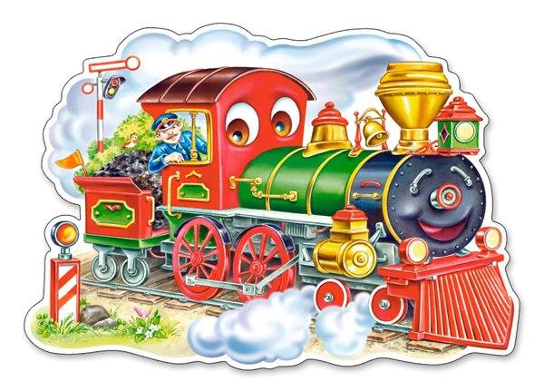 Картинка паровоз для детей в хорошем качестве