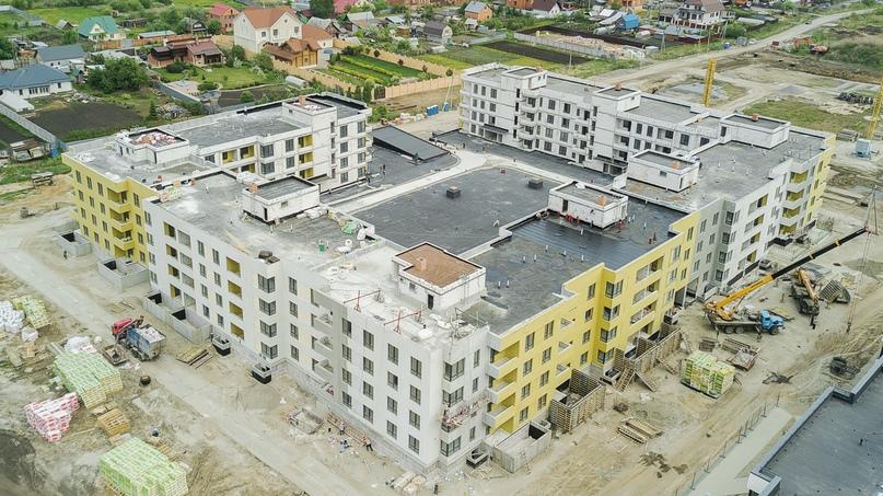 Отчет о ходе строительства ЖК «Ожогино» май 2020, изображение №1