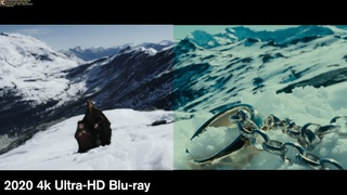 The Lord of the Rings: The Fellowship of the Ring - 4k/Blu-ray Comparison