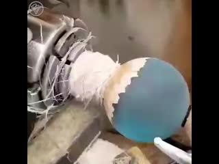 Создание красивой сферы с истребителем из star wars - tie line fighter