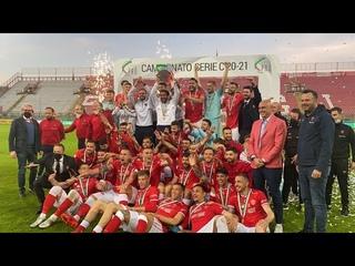 «Перуджа»  получает медали за победу в Серии С 2020/2021