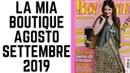 LA MIA BOUTIQUE AGOSTO/SETTEMBRE 2019