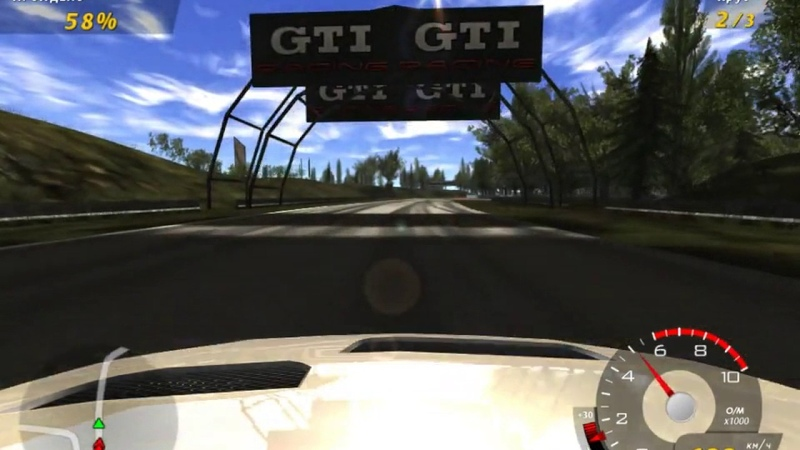 GTI Racing 2006 58 Super Power Monkey Business Tayout 1 Автодром Бирмингем Англия
