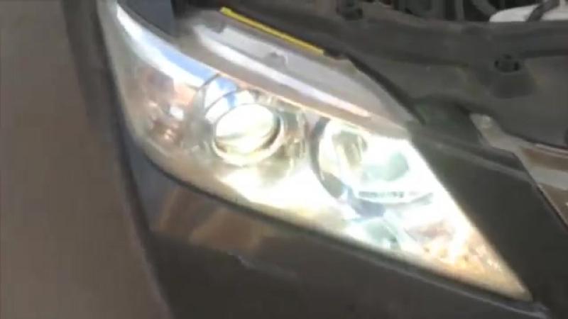Светодиодные лампы Toyota Camry CREE LED 2GEN 6000K 2400 lumen дальний свет