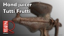 Hand juicer Restoration