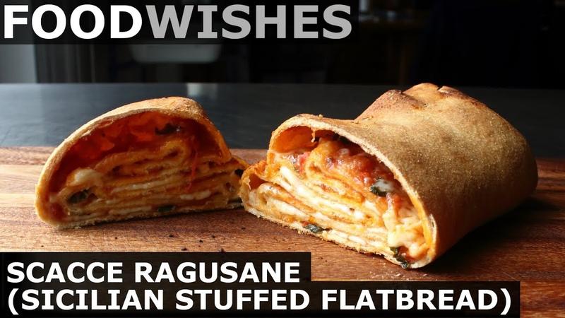 Scacce Stuffed Sicilian Flatbread Food Wishes