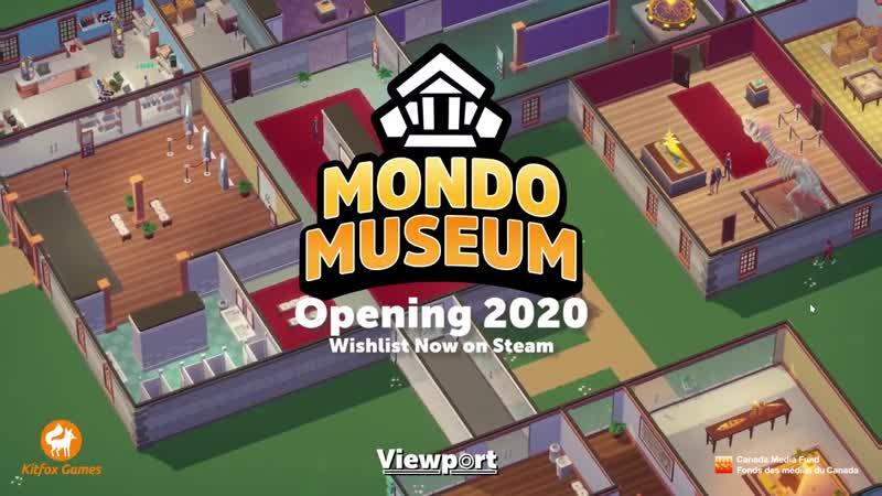 Игра Mondo Museum в раннем доступе в steam!