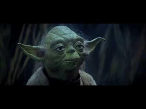 You should listen to Yoda more