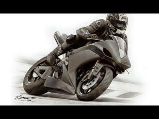 Yamaha YZF-R1 drawing by Adonis Alcici