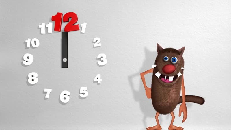 Compter les heures pour les enfants Learn to count the hours for Kids Toddlers