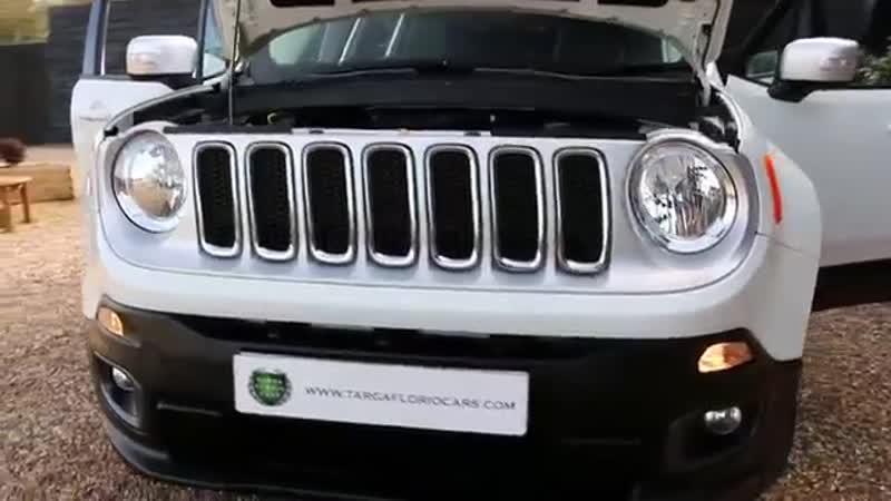 Jeep Renegade 1 6 MultiJet II Limited Station Wagon 6 Speed Manual in Alpine Whi