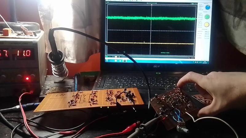 Ssb трансивер с фазовым формированием сигнала