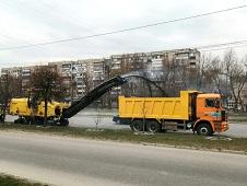 Дорожники Липецкого района работают в областном центре