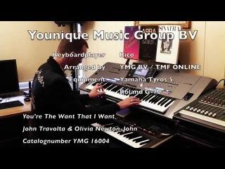 John Travolta & Olivia Newton-John You're the One That I Want Yamaha Tyros 5 Roland G70 by Rico