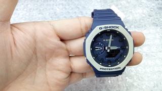 Casio G-Shock GA-2110ET-2A Oak Blue SPEC