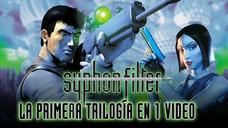 Syphon Filter Primera Trilogía La Saga en 1 Video