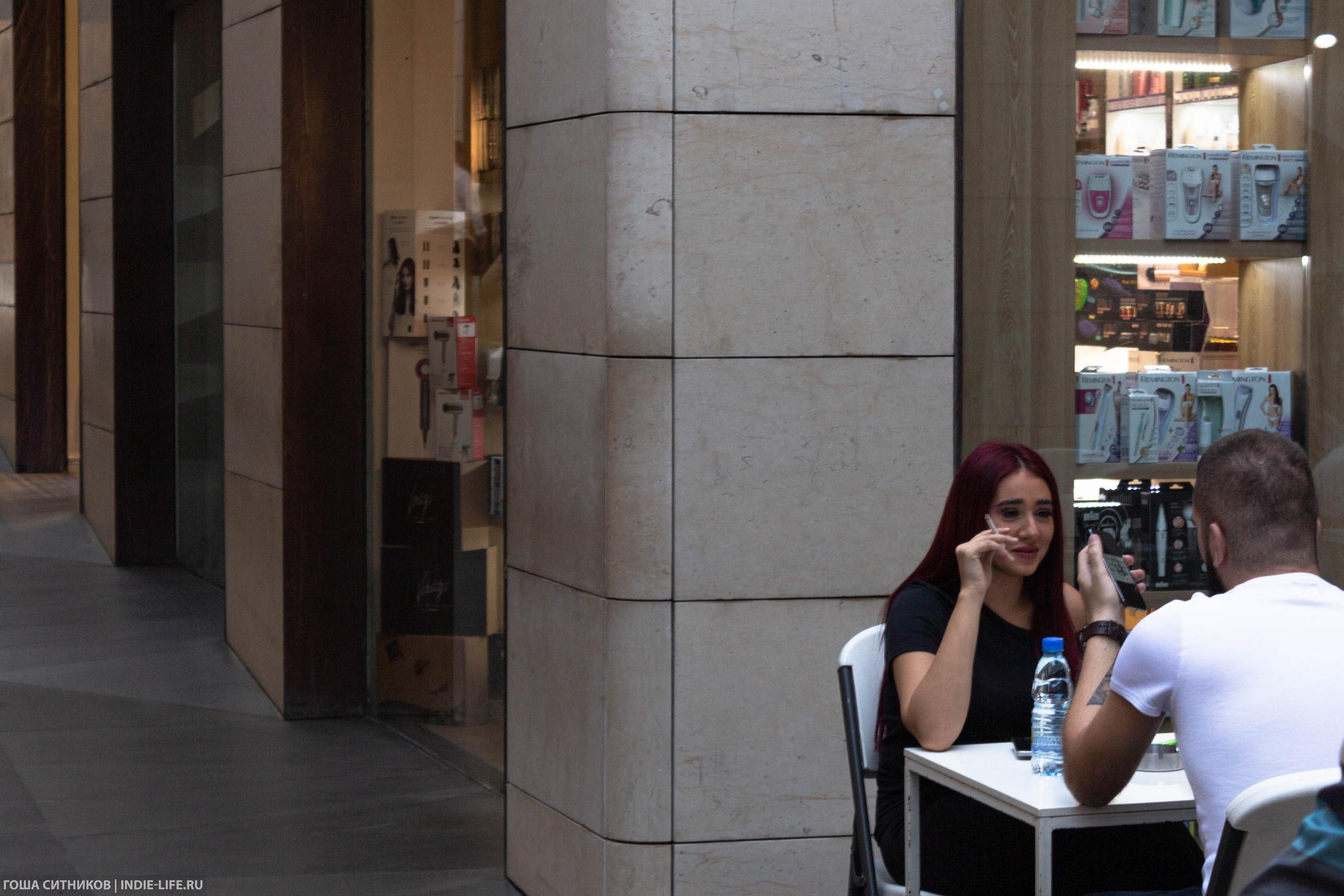 Курение в заведениях Ливан
