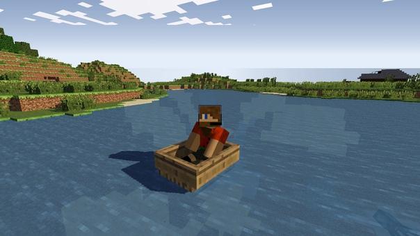 моторная лодка майнкрафт #9