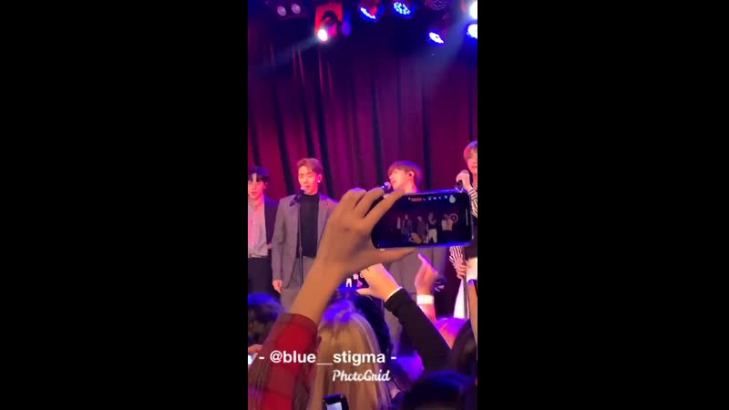 [VK][200214] MONSTA X fancam - Middle of the Night @ The Roxy Underplay Show