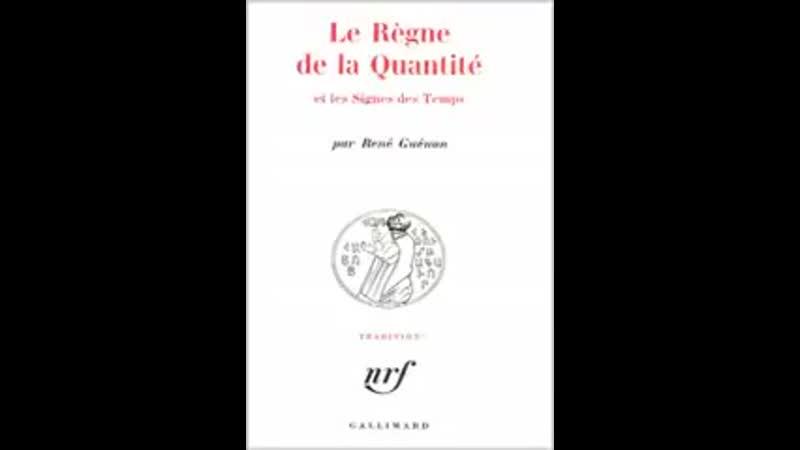 La Fin d'un Monde René Guénon