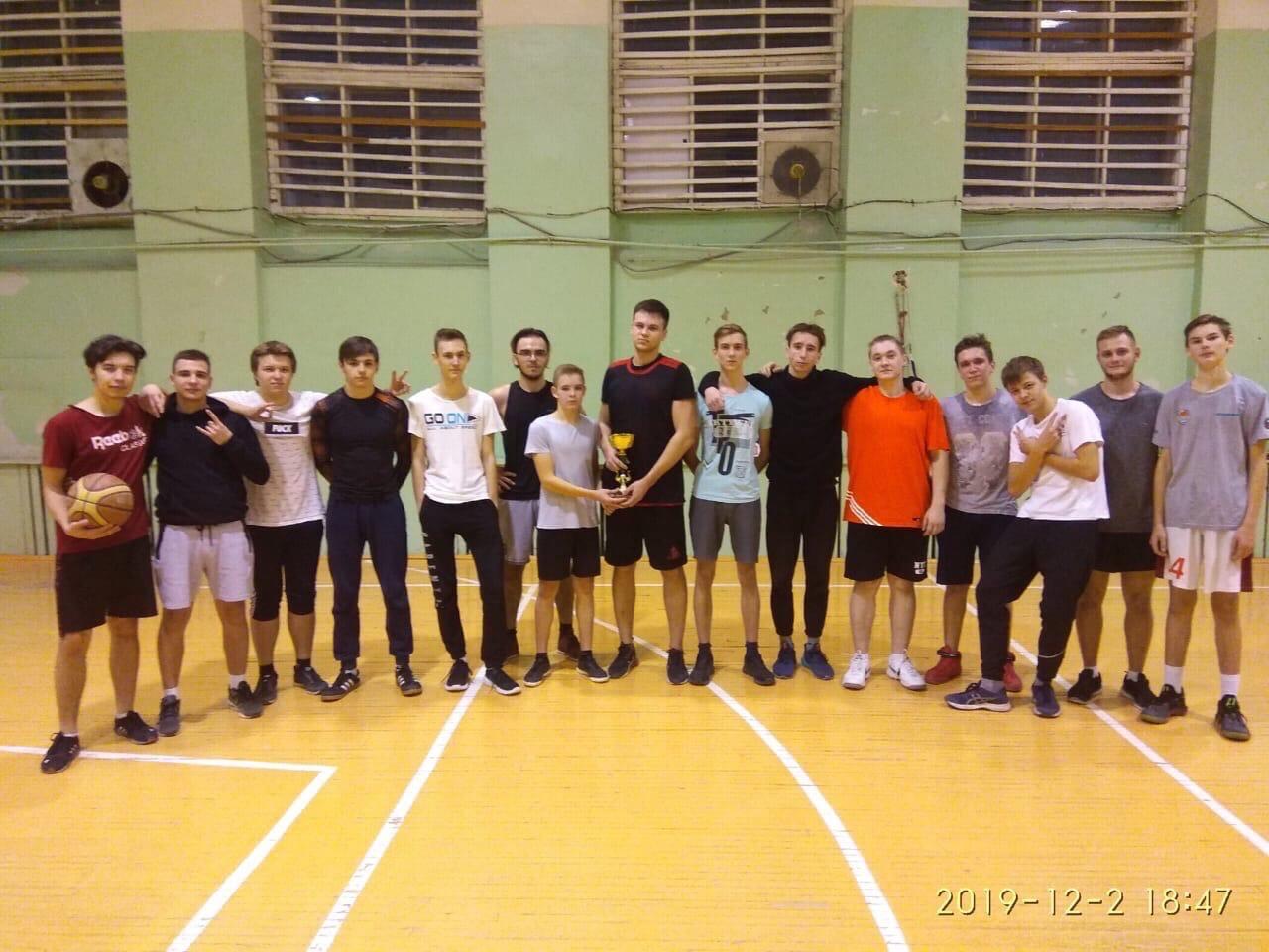 Завершилось Первенство колледжа по баскетболу среди юношей