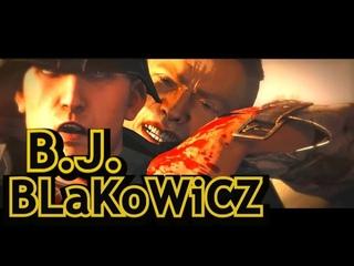B.J. Blazkowicz  is Hugo Stiglitz (Quentin Tarantino Themed)