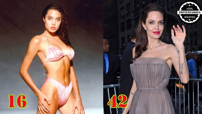 Анджелина Джоли От 0 До 42 Лет от D J S