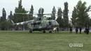 В центре Покровска приземлился вертолет с спецподразделением чтобы разогнать титушек под окружной избирательной комиссией на улице Почтовой и обеспечить справедливый подсчет голосов