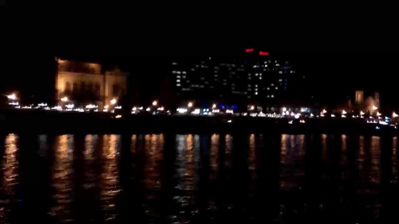 вечерний Будапешт с воды