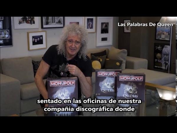 Brian May presenta el Queen Monopoly Subtítulos en español