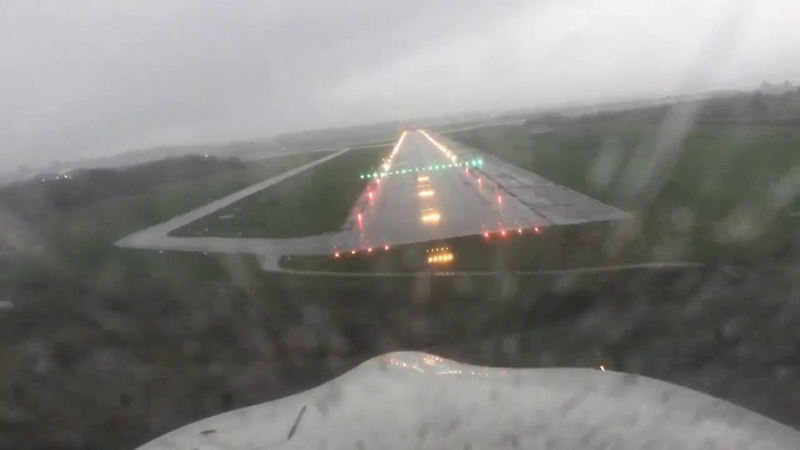 IFR Approach into Astoria Oregon KAST in a Cirrus SR22