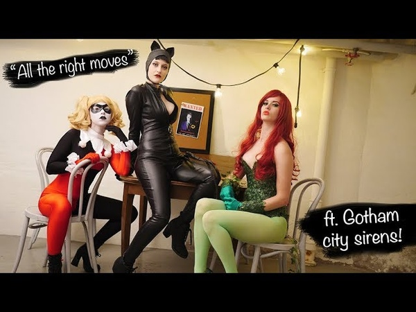 Gotham City Sirens All the right moves