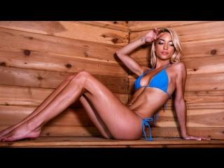 Paisley rae - sauna seduction [bazzers, hd 1080. blonde, massage, natural tits]