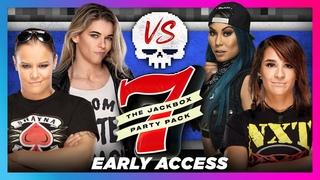 Shayna Baszler vs. Mia Yim vs. Dakota Kai vs. Jessamyn Duke: Jackbox 7 - Devils & Details