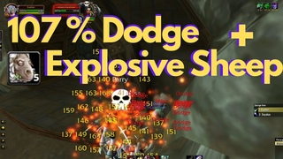 Lv 10 Twink Rogue 107% Dodge Aoe Pull Deadmines - WoW Classic
