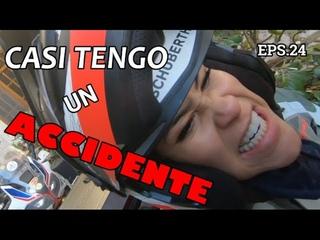 [#24] ITALIA - Casi tengo un ACCIDENTE - I ALMOST HAD AN ACCIDENT- Vuelta al mundo en moto