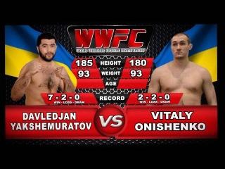 WWFC Warriors Honor II - Davledjan Yakshemuratov (Kharkiv) VS Onishenko Vitaly( Poltava)