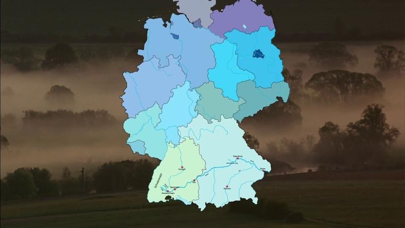 Дикая природа Германии 1 серия Немецкий Дунай