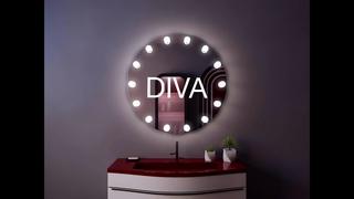Гримёрное зеркало Diva