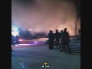 Пожар в селе Жуланка