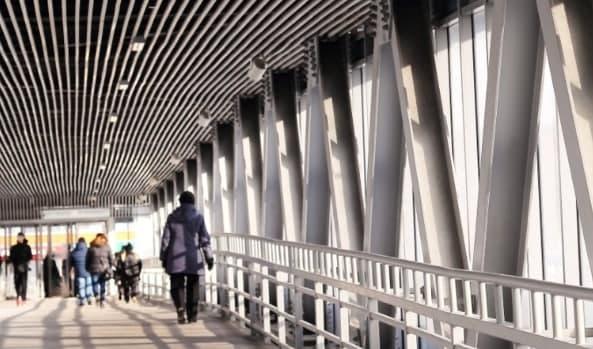 Надземный пешеходный переход построят в Нижегородском. Фото: stroi.mos.ru