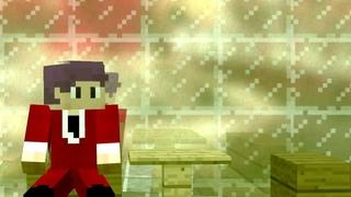 Опенинг Tokyo Ghoul. Но это Minecraft